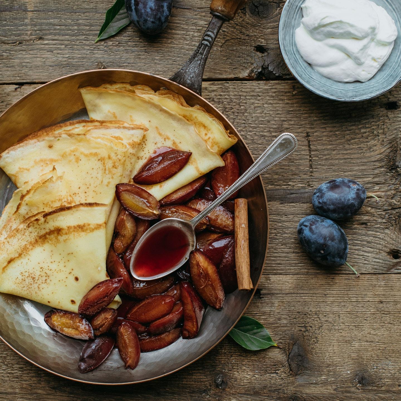 Le Moulin - Les recettes - Paangecher mat Quetschen
