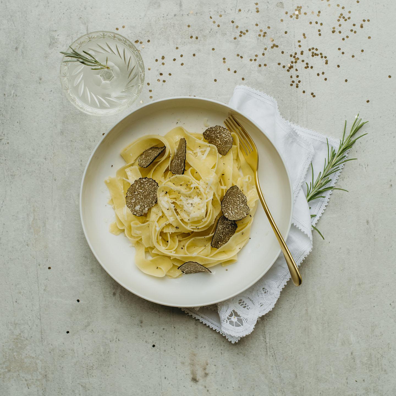 Le Moulin - Recettes - Tagliatelle with truffle