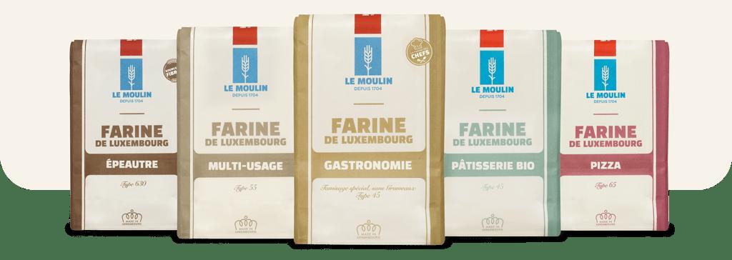 Le Moulin - La gamme des farines
