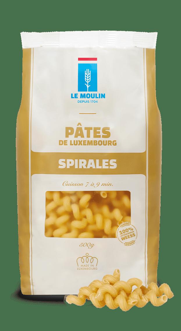 Le Moulin - Pâtes - Spirales