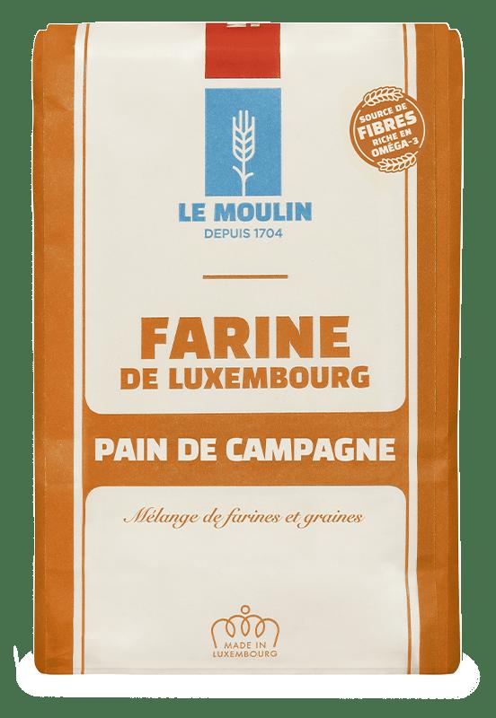 Le Moulin - Farines - Bauerebrout